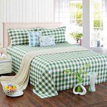 山东老粗布床单单件纯棉单人双人床单加厚帆布料学生宿舍炕单夏季