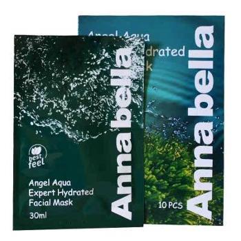 泰国安娜贝拉Annabella海藻面膜补水保湿深海矿物贴片面膜10片装