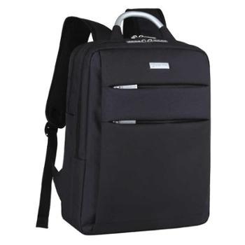 邵龙韩版休闲双肩包男简约15.6寸笔记本电脑包时尚背包