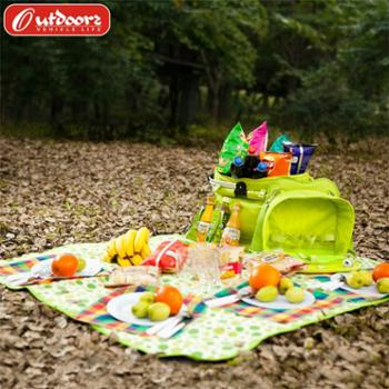 欧德仕野餐垫防潮垫户外多人野营沙滩地垫防水加厚草坪垫子野餐布