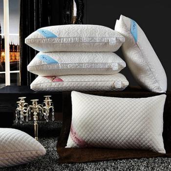 梅兰锦绣枕头针织棉按摩护颈枕真空压缩枕-单个XH-针织护颈枕