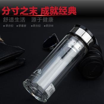 泽宇双层玻璃杯 水晶杯 厂家直销 时光二代系列