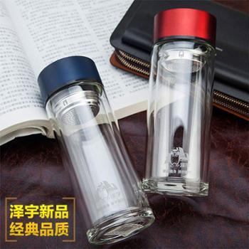 泽宇锋范杯系列 双层玻璃杯 水晶杯 厂家直销