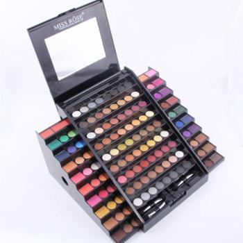 MISS ROSE 130色眼影阶梯粉盒彩妆盒化妆盒高档豪华眼影盒