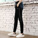 REALLION 新款瑜伽裤 时尚韩版透气速干黑色长裤女式运动健身休闲裤