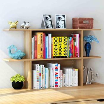 简易桌面置物架 创意书架 桌上置物架简约现代办公桌收纳小书架