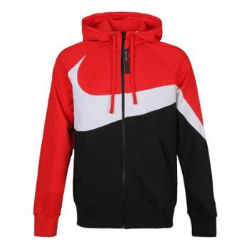 耐克NikeSPORTSWEARFrenchTerry男子全长拉链开襟连帽衫AR3085-657