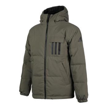 阿迪达斯 Adidas 羽绒服男装冬新款运动服保暖防风外套 EH4009