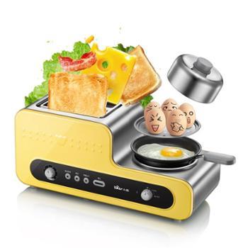 Bear/小熊 DSL-A02V1 多士炉家用烤面包机2片早餐机全自动吐司机