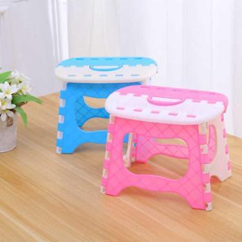 便携小板凳儿童成人户外便携式折叠凳塑料折叠凳子加厚型