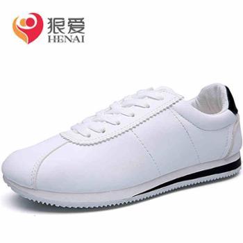 新款春季潮鞋韩版潮流男鞋子运动休闲小白鞋男士板鞋百搭夏季1
