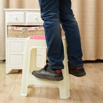 塑料凳子加厚成人换鞋凳儿童矮凳浴室凳方凳小板凳餐桌凳家用椅子