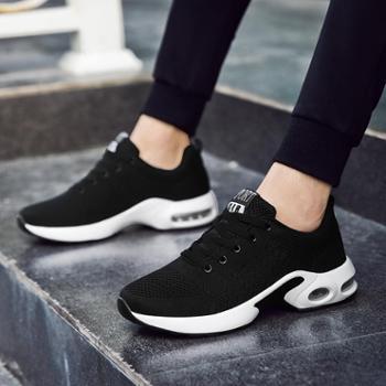 新款夏季透气休闲鞋男鞋子男士运动潮鞋防臭网鞋板鞋百搭球鞋