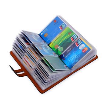 防盗刷防磁卡包男女式大容量多卡位名片包卡片包定制屏蔽NFC卡夹