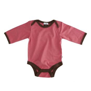 babysoy0-2岁婴儿连体爬行服新生儿宝宝哈衣三角夏长袖包屁衣