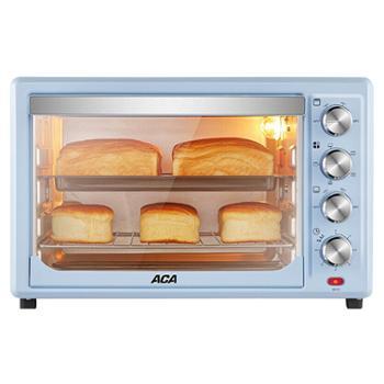 ACA/北美电器ATO-HB38HT电烤箱家用烘焙多功能全自动大容量38L升
