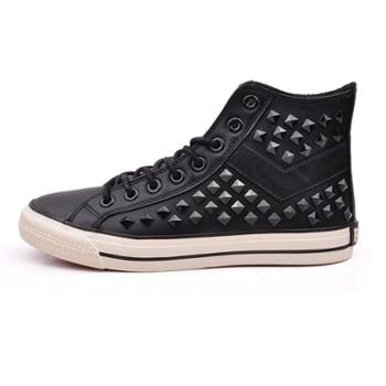 PONY(波尼) 男硫化鞋 黑色 34M1SH02BK