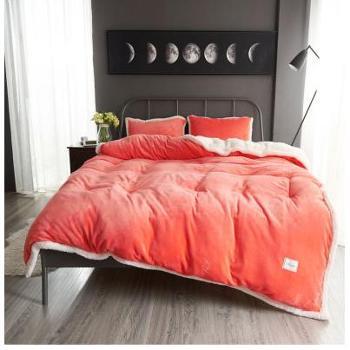 冬季空调毯珊瑚绒毯子加厚法兰绒毛毯床单毛巾被午睡单人双人盖毯