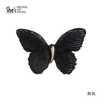 shes梦幻花语系列蝴蝶魔术贴SHB9611304