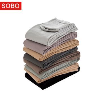 SOBO连裤袜130g高腰显瘦纯色打底裤防勾丝打底外穿B326
