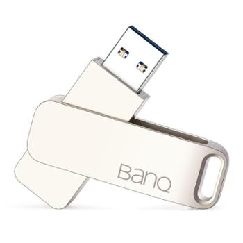 BanQU盘32gUSB3.0高速优盘个性旋转金属创意32gu盘电脑车载两用礼品u盘学生用移动系统盘
