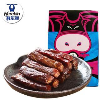 内蒙古特产小吃科尔沁手撕风干牛肉干250g辣味零食