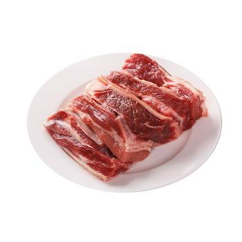 内蒙古草原牛肉科尔沁生鲜冷冻牛腩切块1000g