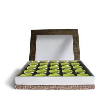 特级小罐绿茶礼盒套装20罐60120g