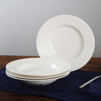 顺祥陶瓷韩式汤盘套装