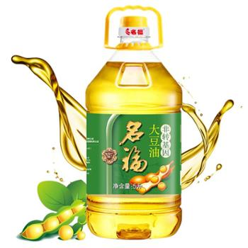 名福非转基因大豆油一级大豆油食用油5L