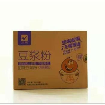 [现场提货020专享商品,网购不发货]龙禹原味含糖豆浆去渣豆粉