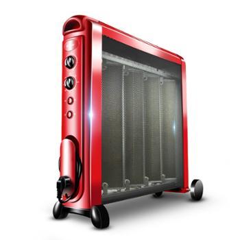 格力电暖器家用电热膜取暖器节能暖风机静音电暖气省电硅晶烤火炉
