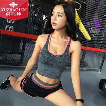 俞兆林新款运动跑步速干背心女 运动文胸 健身聚拢防震瑜伽文胸