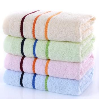 亚光毛巾纯棉素色吸水毛巾家用擦脸1条装