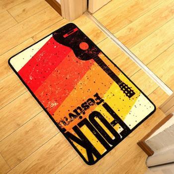 华德 地毯 地垫 门垫 代现日韩时尚潮人地垫 入户门厅防滑脚垫坐垫订制