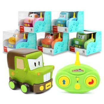 贝恩施电动遥控车玩具 男女孩耐摔汽车卡通儿童赛车玩具1-3-6岁