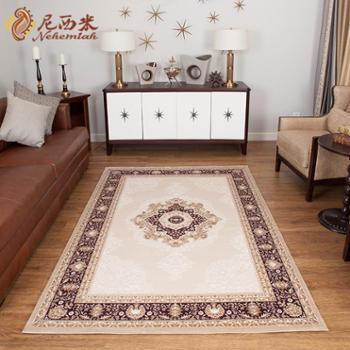 进口欧式地毯 客厅地毯 欧式古典卧室地毯 沙发茶几垫 高档地毯1.5*2.3