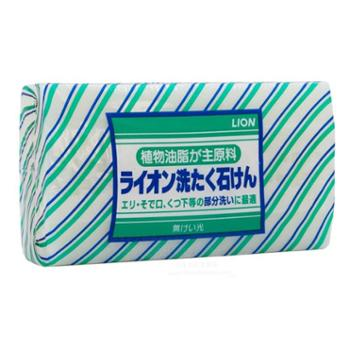 Lion/狮王日本进口植物油脂内衣洗衣皂220gx1块