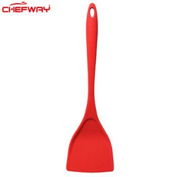CHEFWAY世夫威不粘锅专用铲硅胶铲锅铲炒勺炒菜铲子耐高温家用厨具