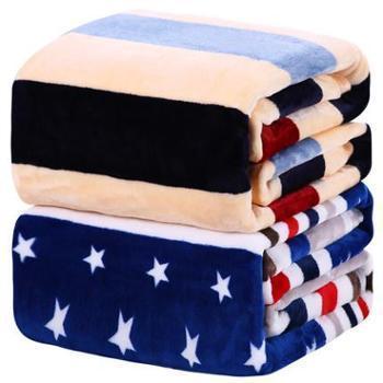 珊瑚毯子冬季用加厚保暖毛绒单件床单人宿舍生活用品法兰绒毛毯床上用品