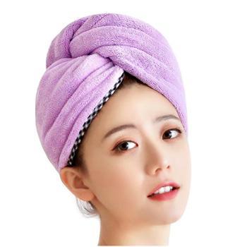 洁丽雅干发帽女2条