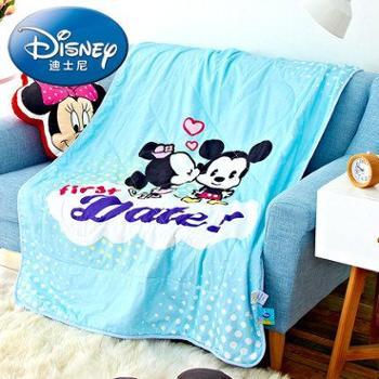 Disney迪士尼全棉印花夏被 米妮之吻