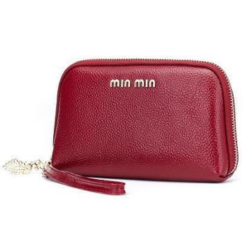飞跃女士手拿包贝壳小包真皮时尚韩版迷你手机包零钱包