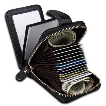 驾驶证行驶证多功能卡包真皮风琴卡包女士钱包卡