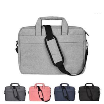 手提电脑包单肩带包商务公文包MacBook小米15.6寸