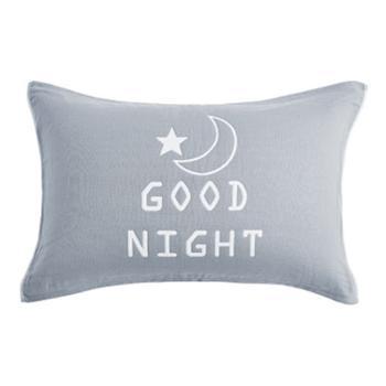 情侣枕巾AB版全棉枕头巾4层纱布ab版卡通花型成人对枕