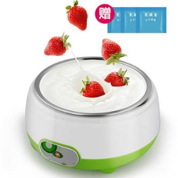【送3包菌粉】自动DIY酸奶机 不锈钢内胆酸奶机 家用酸奶机 自制酸奶 DIY酸奶机