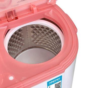 小鸭牌XPB25-2825S迷你洗衣机双桶小双缸小型婴儿童宝宝带脱水