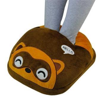 南极人暖脚宝插电电暖鞋暖脚神器电加热鞋电热保暖鞋办公室暖脚垫