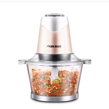 AUX/奥克斯绞肉机家用电动不锈钢料理机小型绞馅机搅拌碎肉碎菜